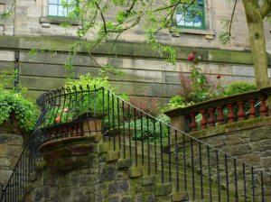 Edinburgh eldugott utcáin