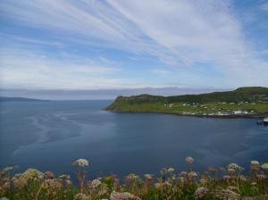 Isle of Skye Uigh közelében