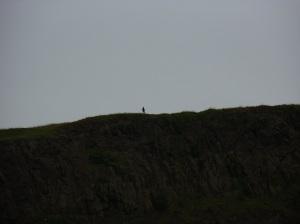 ember a hegytetőn, Edinburghban