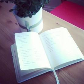 jegyzetfüzet a blogos ötleteimmel