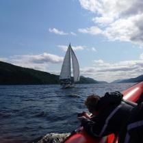Sailing calmly