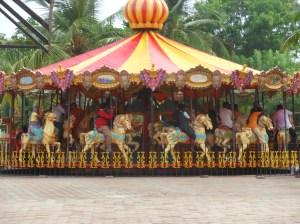 körhinta/carousel MGM amusement park