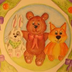 tányéros színes