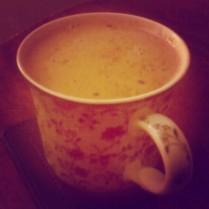 Mogyoróvajas forró csoki :)